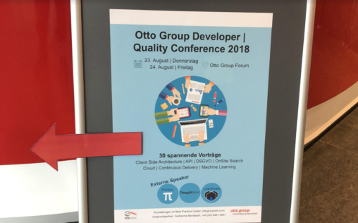 otto group developer conference quality