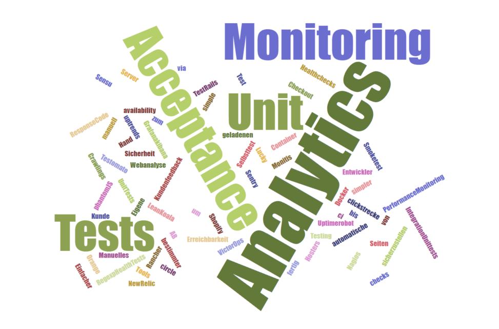 E-Commerce Web Testing Monitoring Tools im Einsatz